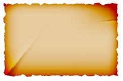 gammalt paper ark Royaltyfri Illustrationer
