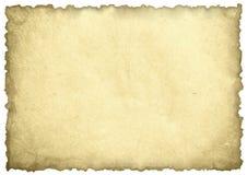 Gammalt paper ark Royaltyfri Fotografi