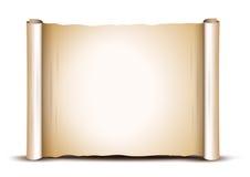 Gammalt paper baner stock illustrationer