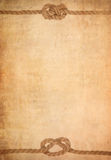 gammalt paper parchmentrep för bakgrund Royaltyfria Foton