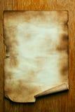 gammalt papper arkivbilder