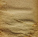 gammalt papper Arkivfoto