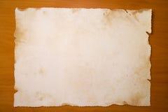 gammalt papper Arkivfoton