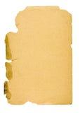 gammalt papper 3 Arkivbild