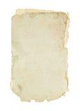 Gammalt papper. Royaltyfria Bilder