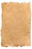 Gammalt papper. Royaltyfri Fotografi