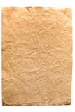 Gammalt papper. Arkivfoton