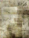gammalt papper för bakgrund Royaltyfri Fotografi