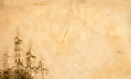 gammalt papper för bakgrund Royaltyfri Bild