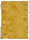 gammalt papper för bakgrund som rivs upp Royaltyfri Bild