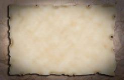 gammalt papper för bakgrundsgrunge Arkivbilder
