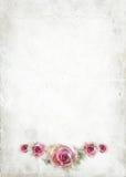 Gammalt papper för förälskelsebokstav Royaltyfri Bild