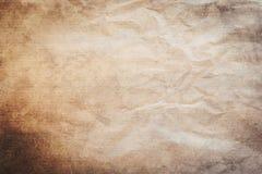 Gammalt papper för Grunge och smutsig tappningbakgrund och textur med s Arkivbilder