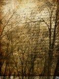 gammalt papper för konststadsgrunge Arkivbilder