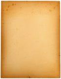 gammalt papper för kort arkivbilder