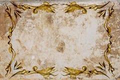 gammalt papper för ram Royaltyfri Foto