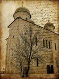 gammalt papper för stadsgrunge Royaltyfria Foton