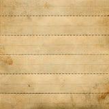 Gammalt papper med dykninglinjer royaltyfria bilder