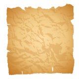 gammalt papper också vektor för coreldrawillustration Arkivfoton