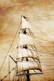 gammalt papper seglar vektor illustrationer