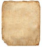 Gammalt pappers- ark royaltyfria foton