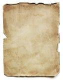 Gammalt pappers- ark  Fotografering för Bildbyråer