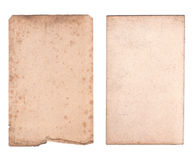 Gammalt pappers- ark Royaltyfri Bild