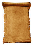 Gammalt parchmentpapper royaltyfri illustrationer