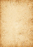 Gammalt pergament för hög kvalitet Fotografering för Bildbyråer