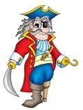 gammalt piratkopiera royaltyfri illustrationer