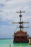 gammalt piratkopiera shipen Royaltyfria Foton