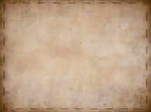 Gammalt piratkopierar skattöversiktsbakgrund Arkivbilder