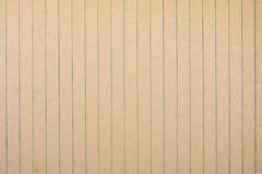 Gammalt randigt papper som bakgrund Arkivfoton