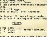 gammalt recept för grunge Royaltyfri Fotografi