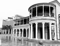 Gammalt regerings- hus, Queensland universitet av teknologi, Brisbane, Australien Fotografering för Bildbyråer