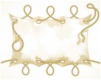gammalt rep för baner Royaltyfri Fotografi