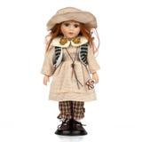 gammalt retro för docka Royaltyfria Foton