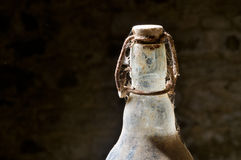 gammalt retro för flasklemonade Arkivfoton