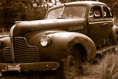 gammalt rostigt för bil Arkivbild