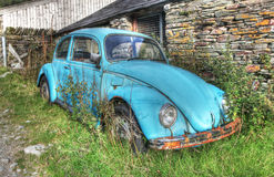 gammalt rostigt för bil Arkivfoto