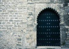 gammalt rostigt för dörr Royaltyfria Foton