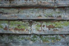 gammalt rostigt för staket Royaltyfri Foto