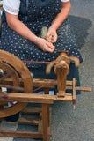 gammalt roteringshjul Arkivbild