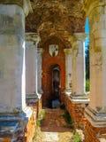 Gammalt säteri i gotisk stil av det 18th århundradet Arkivbild