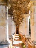 Gammalt säteri i gotisk stil av det 18th århundradet Royaltyfri Fotografi