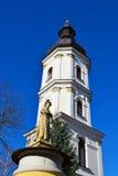 Gammalt sätta en klocka på står hög i Pinsk Arkivfoto