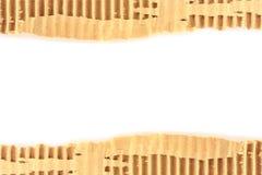 Gammalt sönderrivet texturerat pappark Royaltyfri Foto