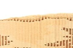 Gammalt sönderrivet texturerat pappark Arkivfoton
