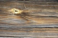 gammalt sörja plankan Arkivfoto