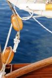 gammalt segla för block Royaltyfri Fotografi